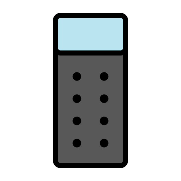 Icon of single air bed