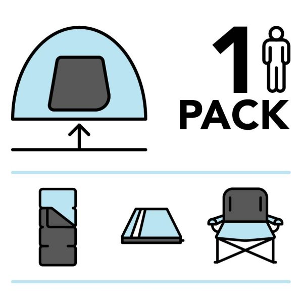 Camplight pre-pitched package for one thumbnail