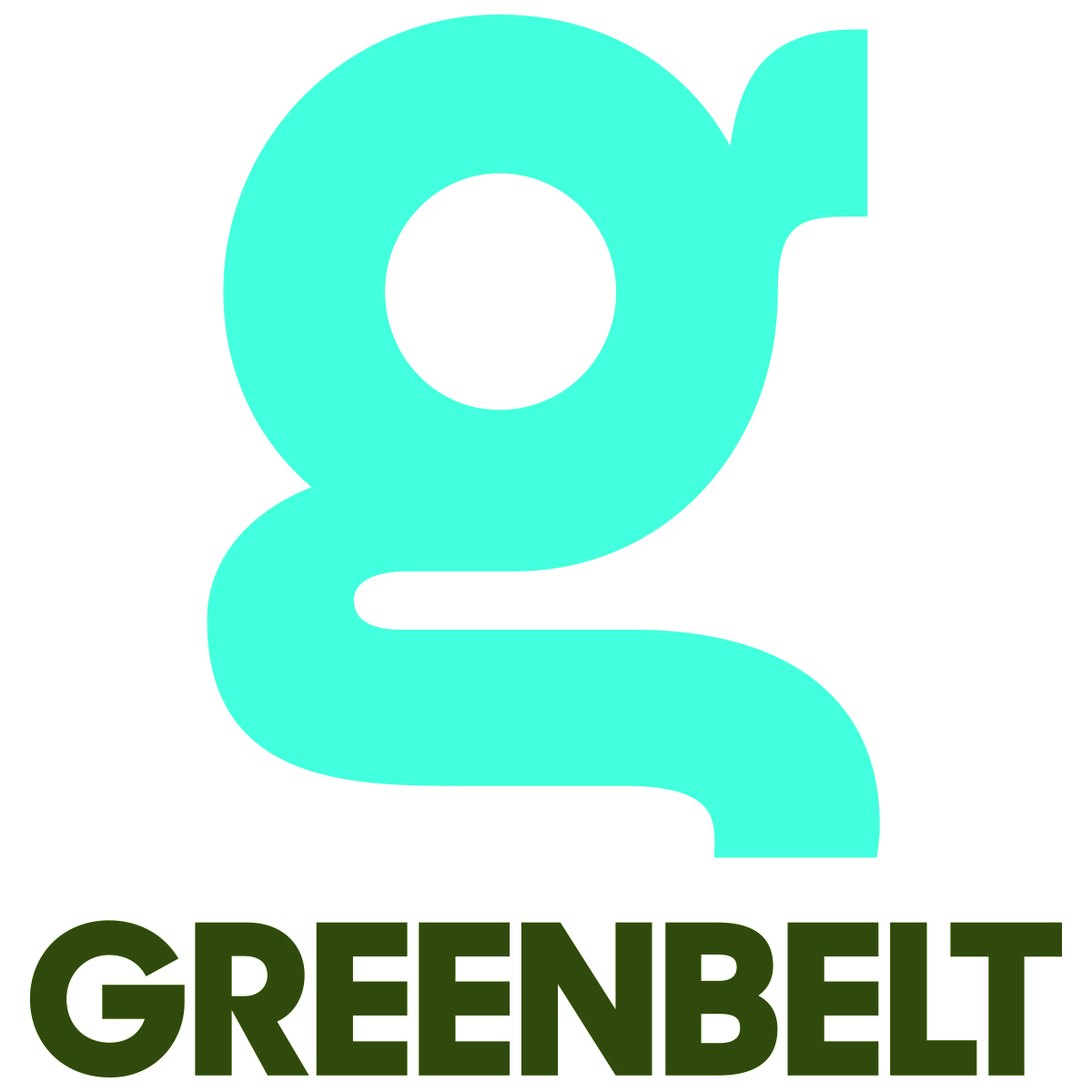green belt festival logo pre pitched tents