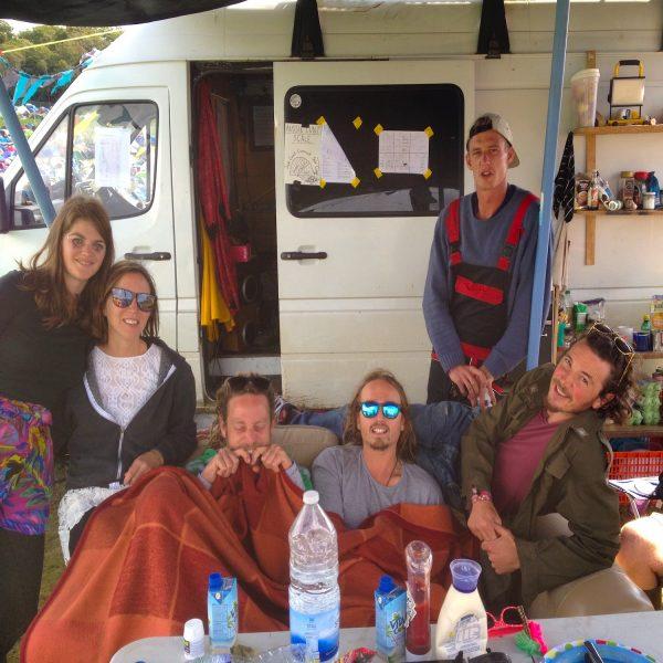 Campsite at Bestival Festival