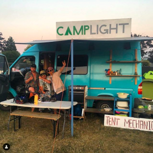 Campsite at NASS Festival
