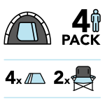 tent for four package