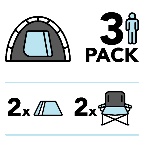 Tent for Three Package